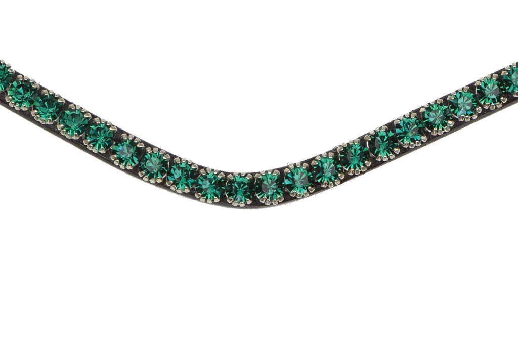 "Stirnriemen ""Sleek Emerald"" von PS of Sweden - helle-kleven.shop"