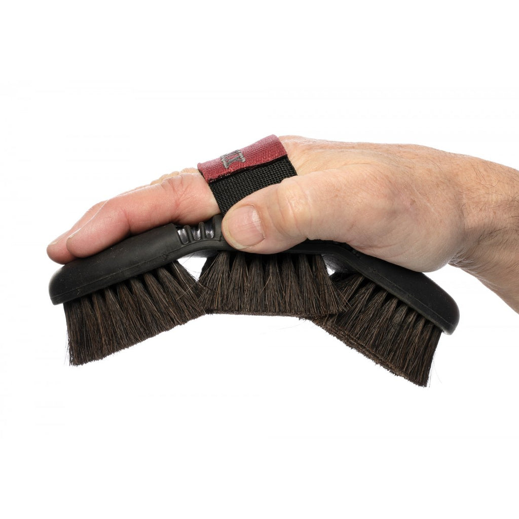 "Bürste ""Flexi Horse Hair Brush"" von LeMieux"