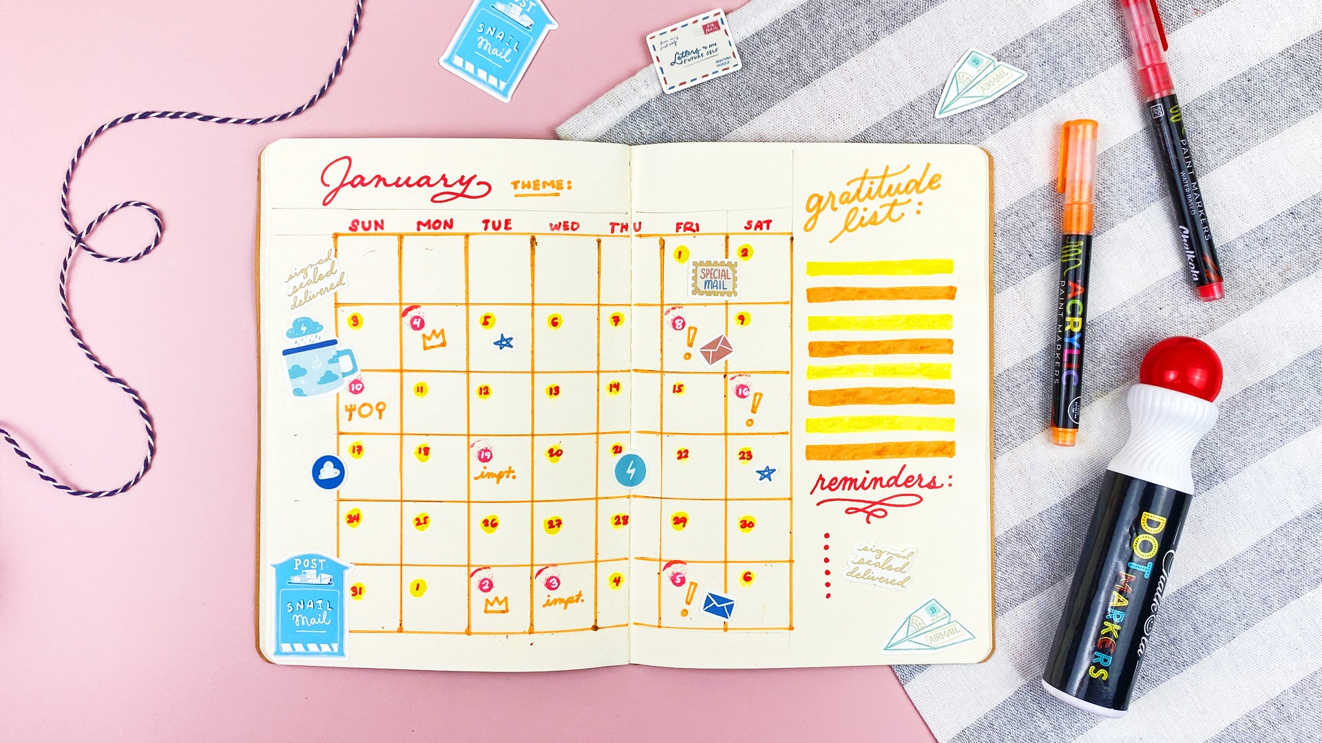 Create Your Own Bullet Journal | Chalkola Art Supply