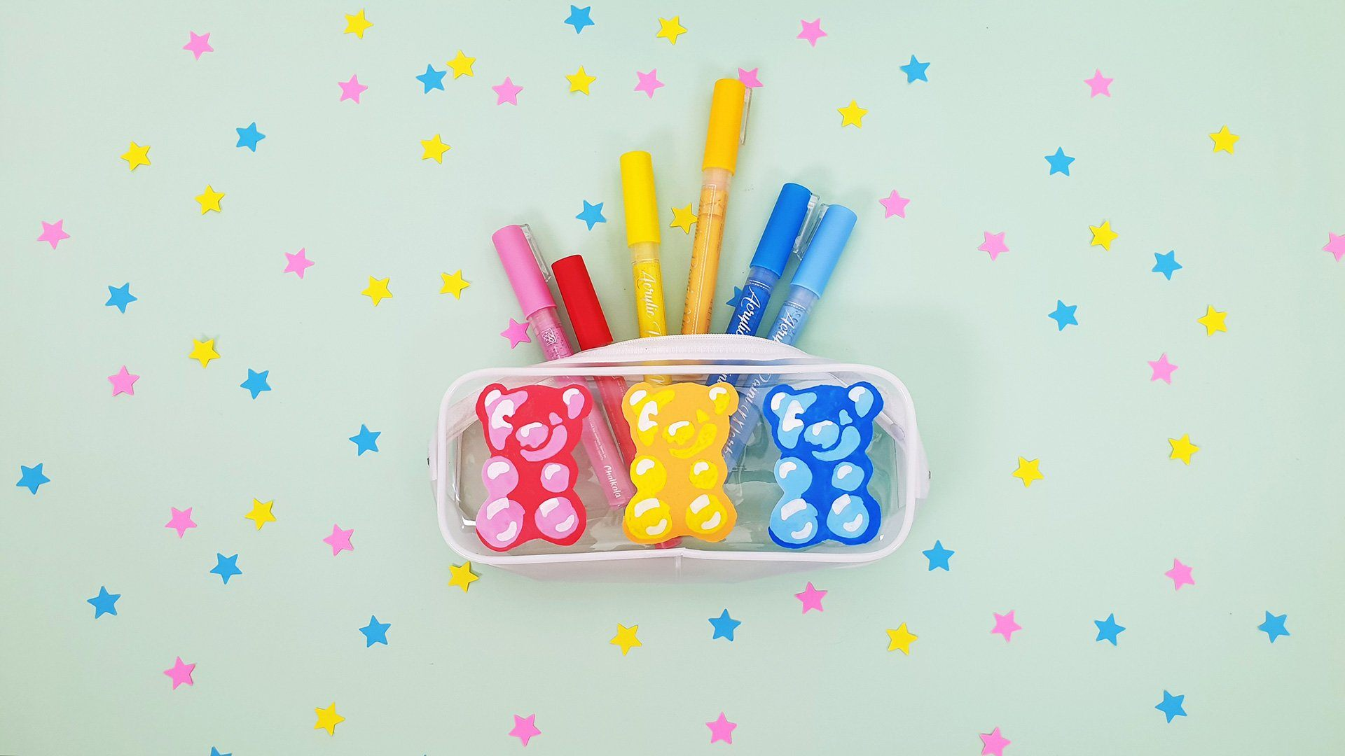 HOW TO: Personalize Your Pencil Case Using Acrylic Paint Pens