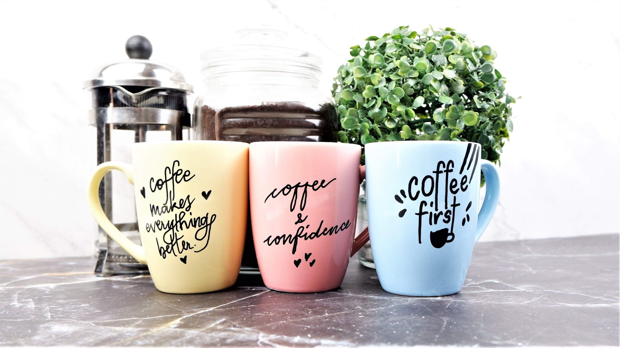 HOW TO: Do Calligraphy on Mugs Using Chalk Markers