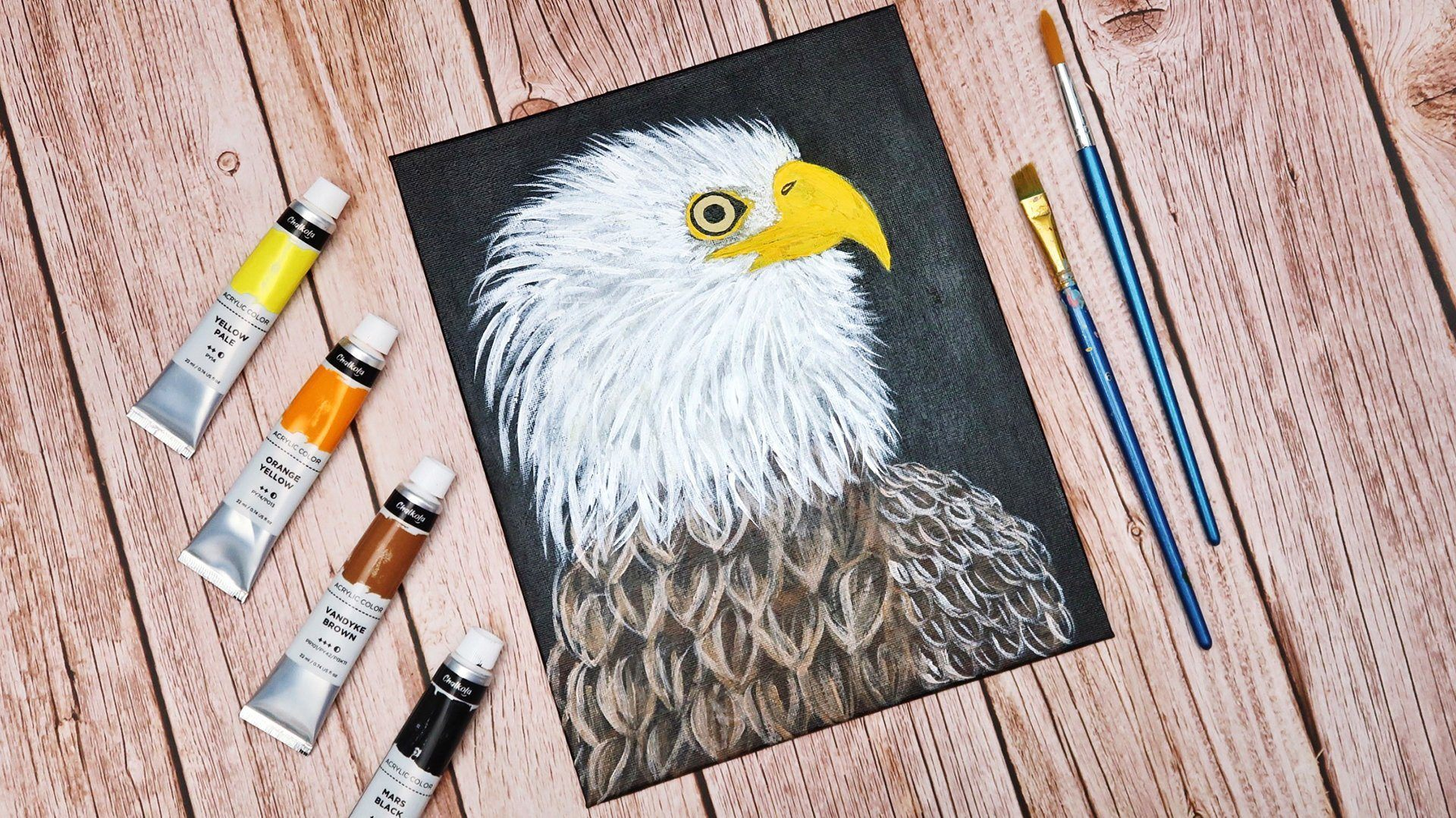 HOW TO: Paint an Eagle Using Acrylics