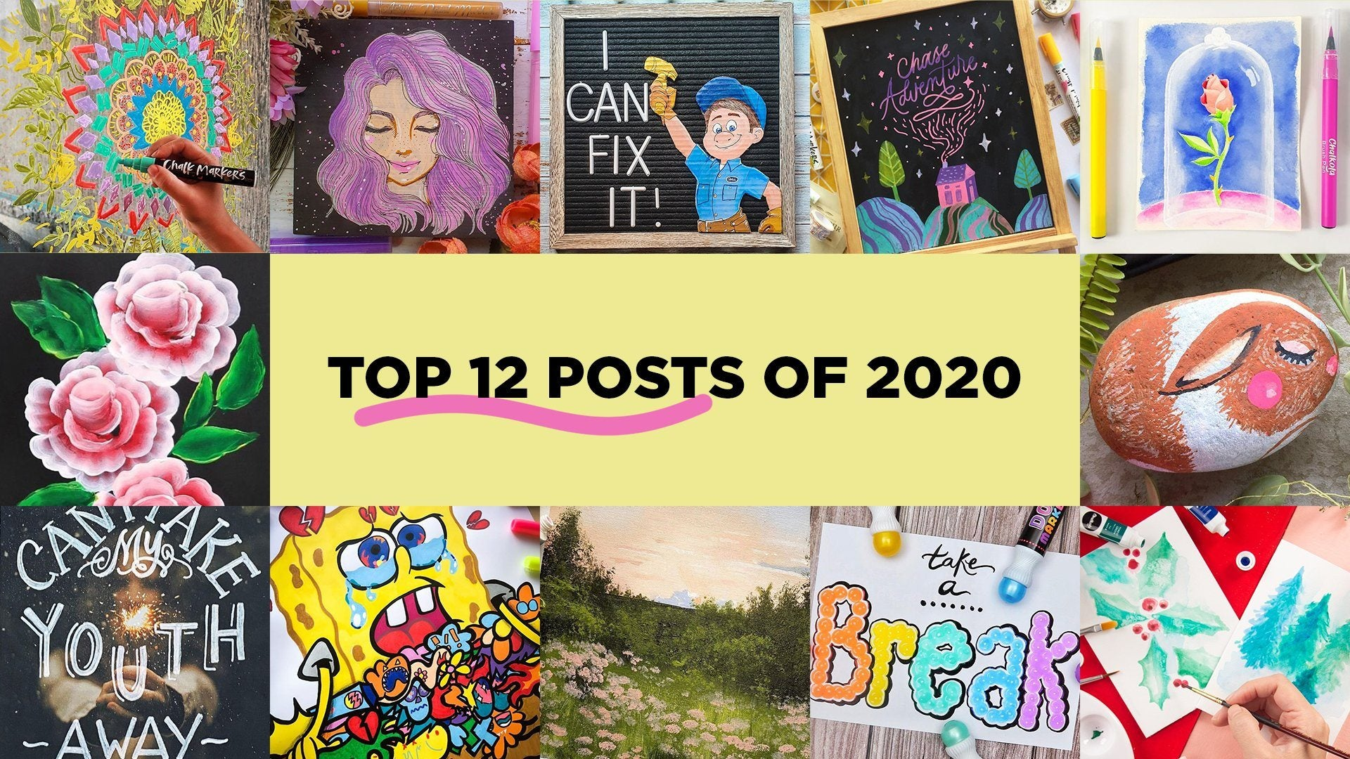 Chalkola's Top 12 Posts of 2020