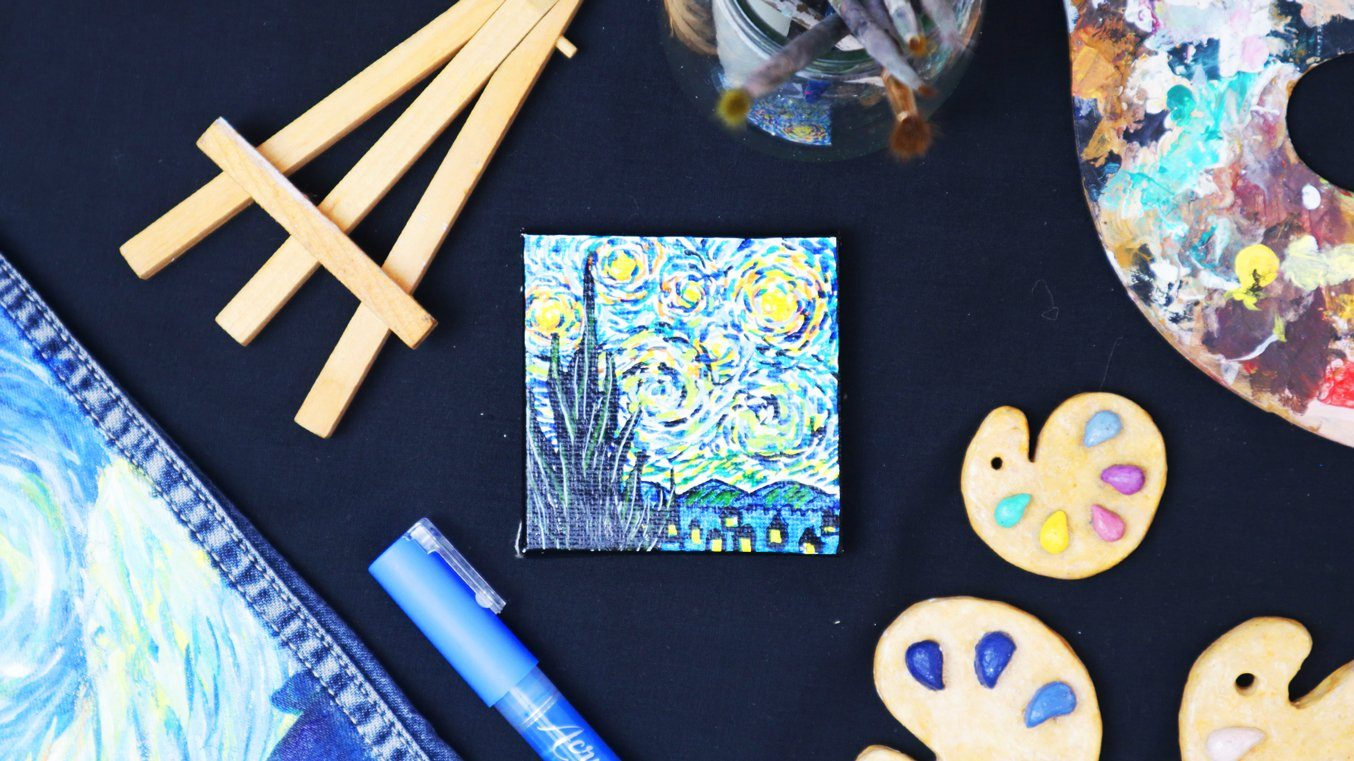 HOW TO: Recreate a Van Gogh Masterpiece with Acrylic Markers