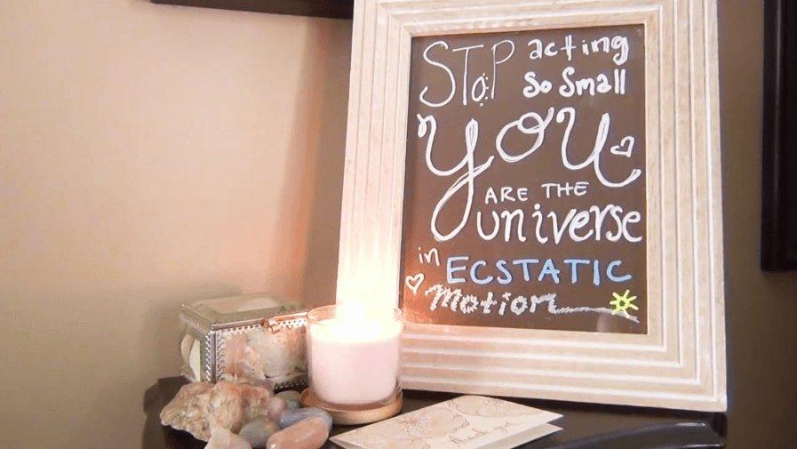 A Chalkola Chalk Marker Affirmation Station | Chalkola Art Supply