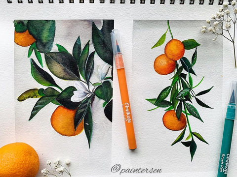 78 Painting Ideas - Fruit Painting
