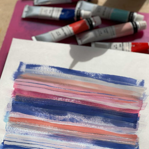 78 Painting Ideas - Swatch Painting
