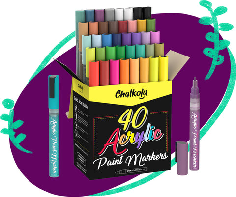 Acrylic Paint Markers 40-Pack Product