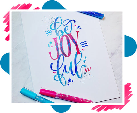 Acrylic Paint Markers Calligraphy