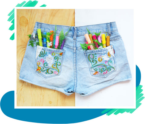 Acrylic Paint Markers Fabric Painting
