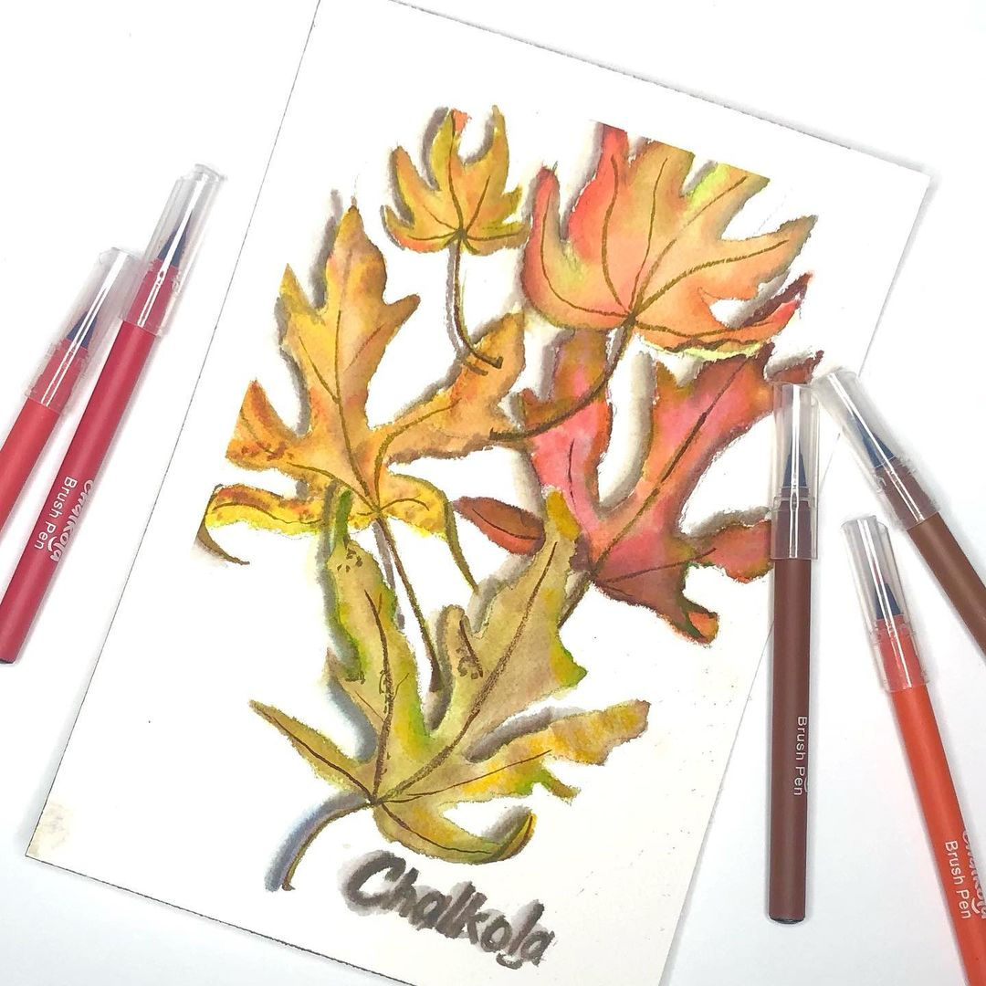 Autumn Watercolor Painting 2