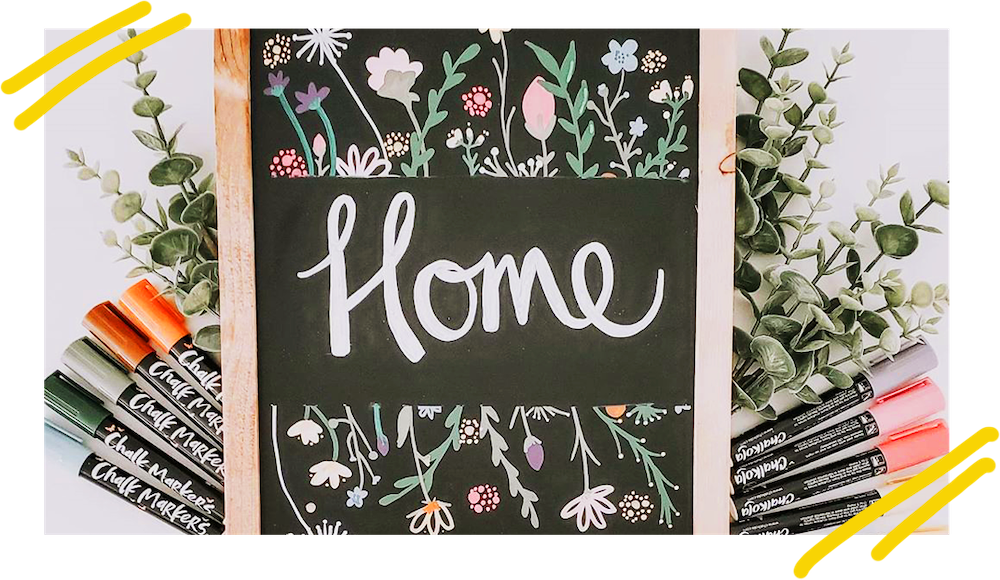 Chalk Markers for Home