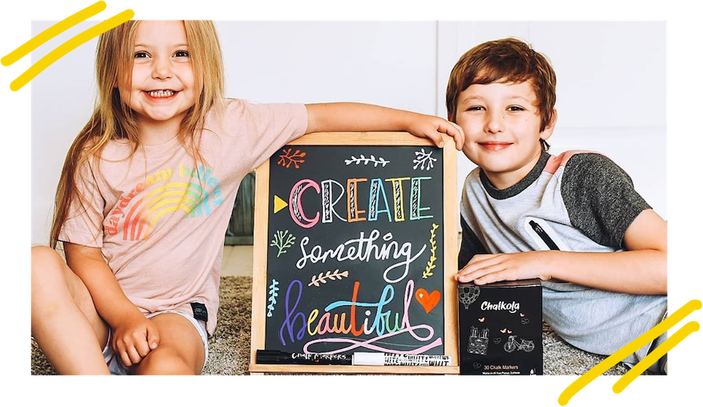 Chalk Markers for Lettering