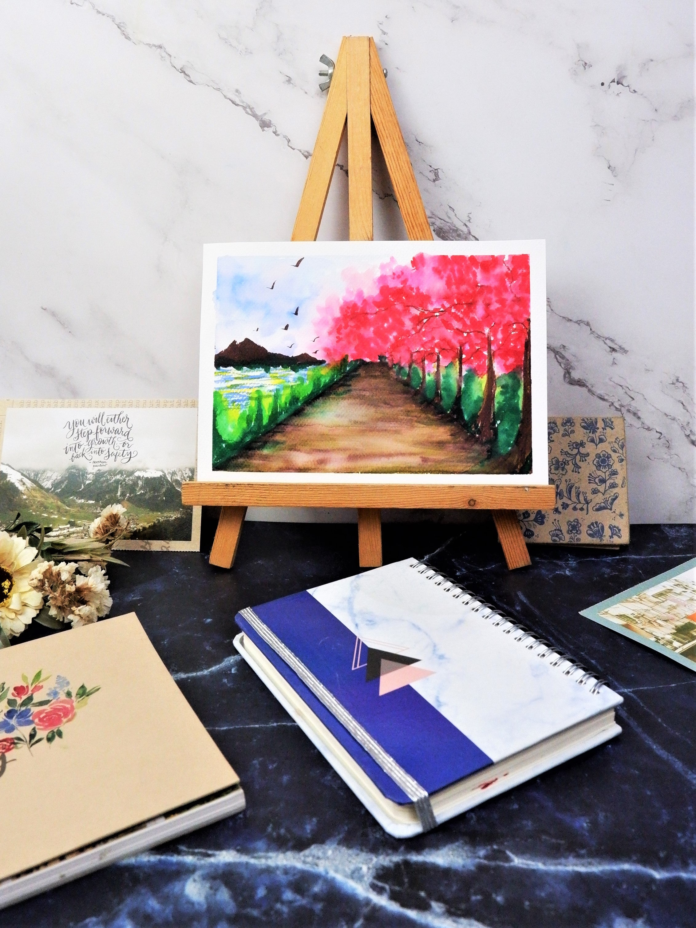 Tree Watercolor Painting 5