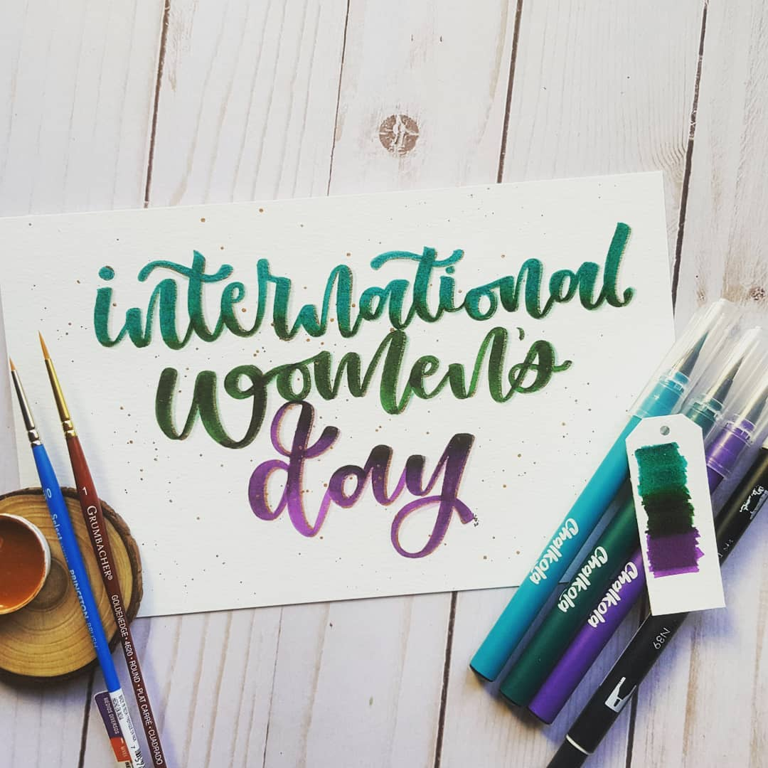 Watercolor Calligraphy 3