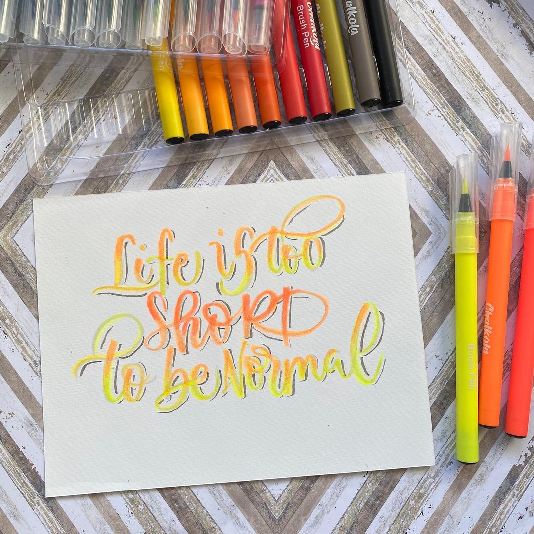 Watercolor Calligraphy 5