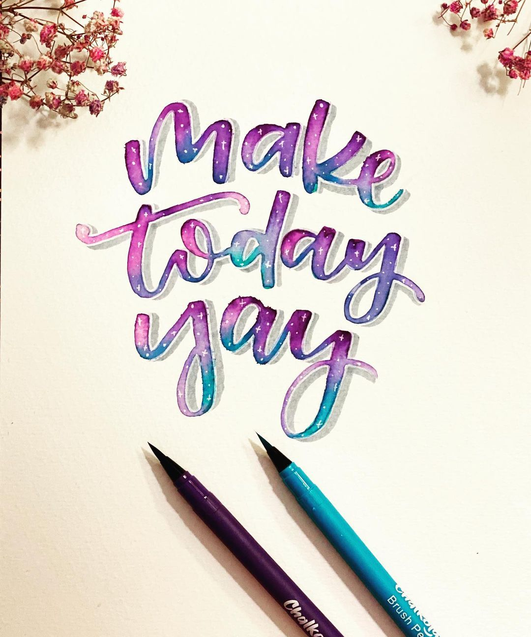 Watercolor Calligraphy 7