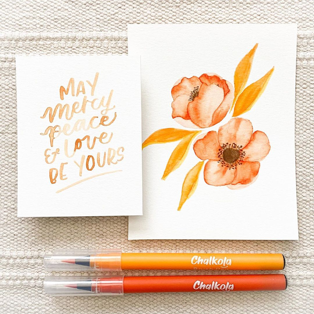 Watercolor Calligraphy 8