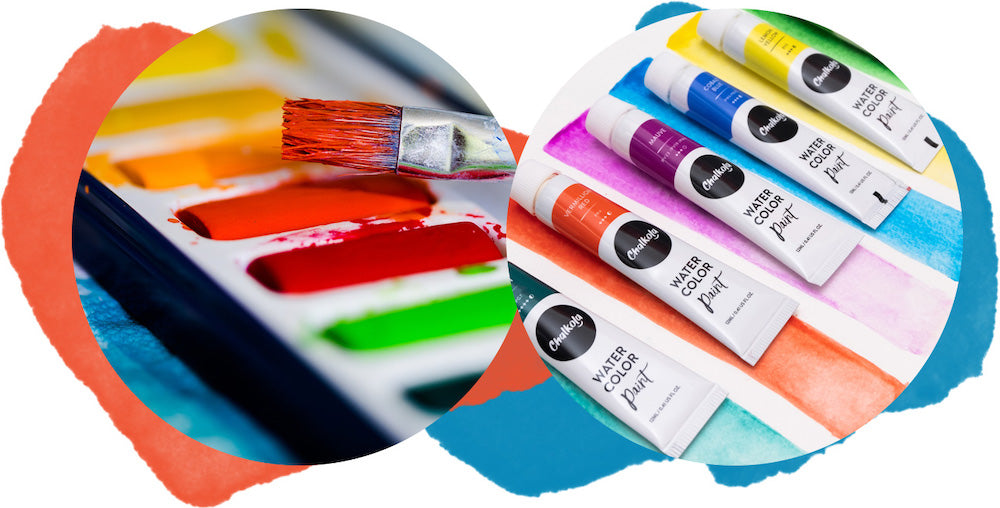 Watercolor Paint - Tubes or Pans
