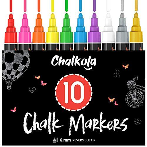 10 Chalk Markers (Gold+Silver) + 15 Acrylic Markers