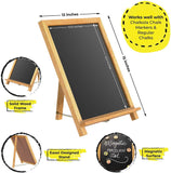 Rustic ChalkBoard Sign With Non-Porous Magnetic Surface