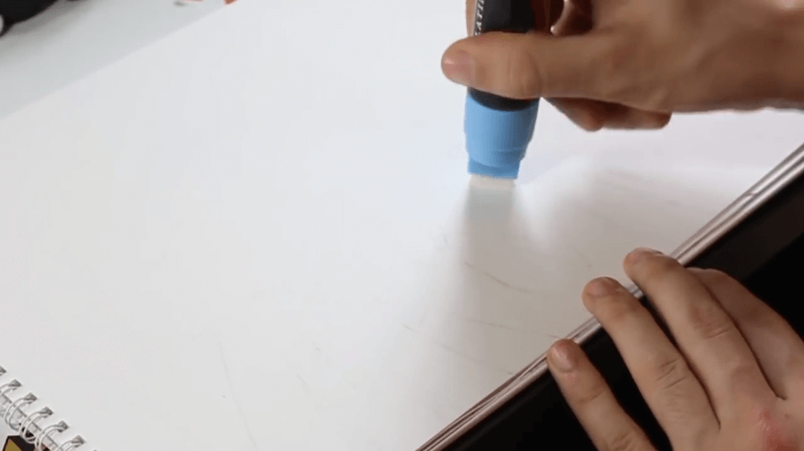 Platinum series blue chalk marker