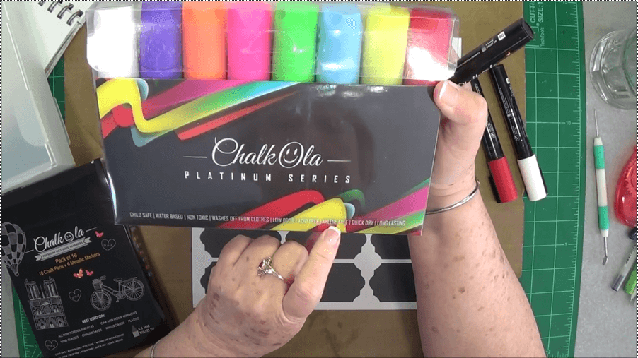 Platinum series chalk markers