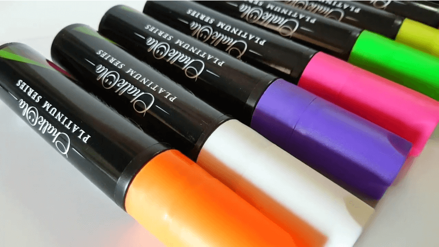 different marker colors