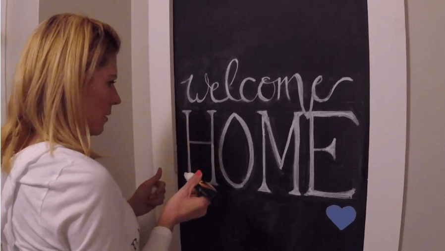 greeting sign