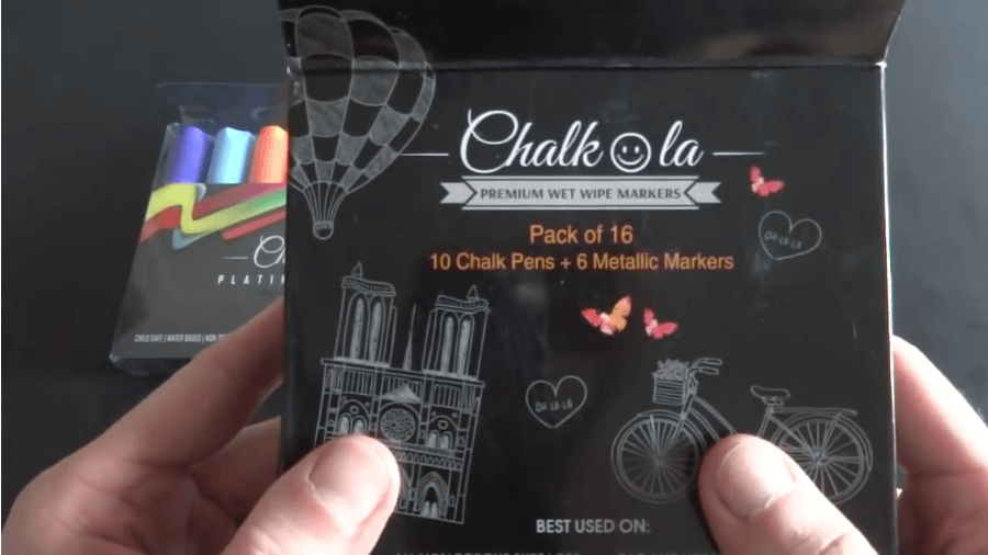 pack of chalk markers
