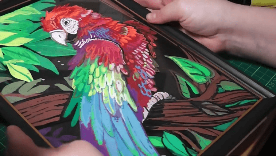 parrot so realistic