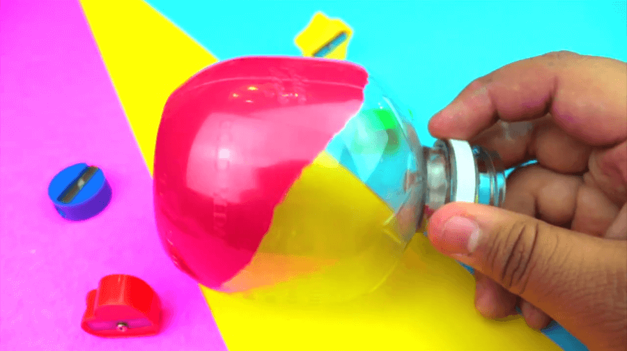 pouring some paint