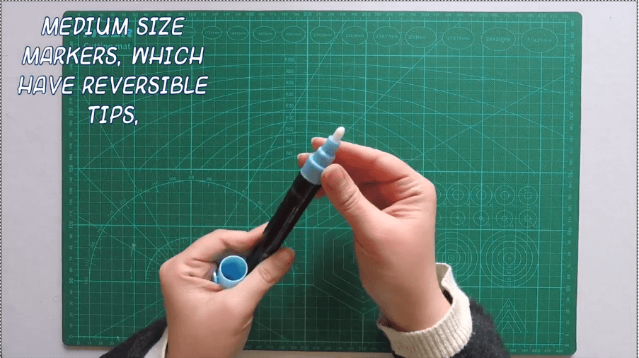 regular sized markers