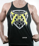 Mens Stringer Tank Top X2X Bodybuilding Wear Gym Workout Clothing NEW USA MADE
