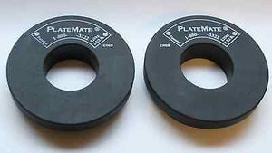 NEW 1 Pair of Donut PlateMate 2 1/2 lb. Add-On Weight Plates 2.5 lb Micro-Load