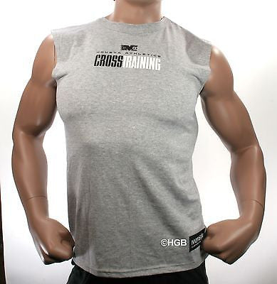 NEW Mens Graphic Tee MONSTA Bodybuilding Wear CrossTraining T Shirt Gym Clothing