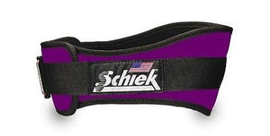 NEW Schiek Model 2006 Nylon Purple Weight Lifting Belt Strong Velcro closure