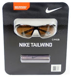 Nike Tailwind Sunglasses EV0752 Polarized Brown Lenses Shiny Brown/Gold Frame