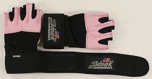 NEW Schiek 540P Platinum Weightlifting Glove - Wrist Wraps Womens Pink Gloves