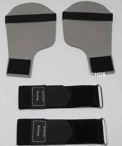 PDX Padded Weight Lifting Training Gym Straps Hand Bar Wrist Support Gloves Wrap