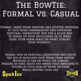 Spud Inc Formal Bowtie Posture Support Brace Donnie Thompson