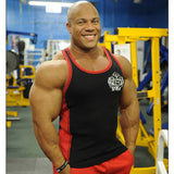 NEW Mens Workout NPC Bodybuilding Wear Interlock Ribbed Tank Top Gym Clothing ALLCOLORS