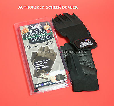 NEW Schiek Gel Padded Glove Model 530 Platinum Series Lifting Gloves All Sizes