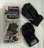 NEW Schiek Model 520 Womens Black Weight Lifting Gloves w/  Velcro Wrist Closure