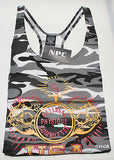 NEW Mens Workout NPC Bodybuilding Wear Cotton Tank Top Gym Clothing Camo