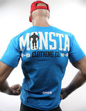 NEW Mens Jacked T SHIRT MONSTA Bodybuilding Wear JACK'D T-Shirt Gym Clothing