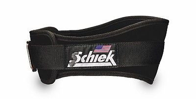 Schiek Model 2006 Nylon Black Weightlifting Belt Patented Velcro closure NEW