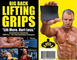 Big Back Lifting Grips Straps, Weightlifting Gloves, Fitness Glove Workout Glove