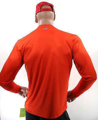 New MenS Under Armour Catalyst Heat Gear UA Long Sleeve Loose Fit Shirt heatgear