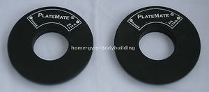NEW 1 Pair of Donut PlateMate 1 1/4 lb. Add-On Weight Plates 1.25 lb Micro-Load